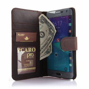 PCARO® Samsung Galaxy Note Edge Handyhülle Lederhülle BookCase