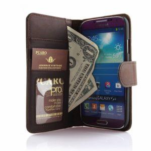 PCARO® Samsung Galaxy S4 Handyhülle BookCase Wallet-Case
